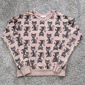 Forever 21 Cat Sweatshirt